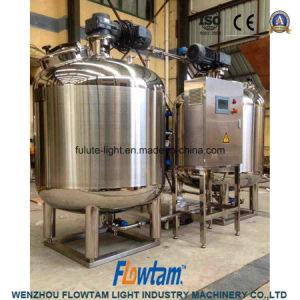 High Standard Stainless Steel Cooling and Heating Fermenter Mixing Tank pictures & photos