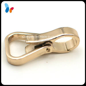 Golden Metal Alloy Snap Hook for Bags pictures & photos