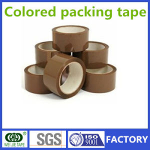 Weijie Hot Sell Strong Adhesive Colored BOPP Packing Tape pictures & photos