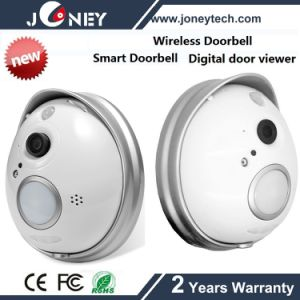 P2p Remote Control 1MP IP CCTV WiFi Wireless Doorbell Camera pictures & photos