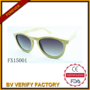 Fx15001 Handmade Quality Wooden Bamboo Sunglasses pictures & photos