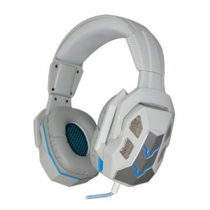 Professional USB Gaming Headset with LED Light and Mic pictures & photos