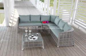 Outdoor Garden Rattan&Wicker Corner Sofa Set