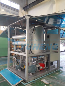 Middle Type Vacuum Insulation Oil Recycling Machine pictures & photos