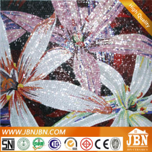 Flower Wall, Pattern and Shearing Glass Mosaic (P5) pictures & photos