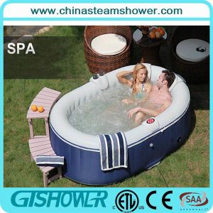 Free Standing 2 Person Outdoor SPA Bathtub (pH050012) pictures & photos