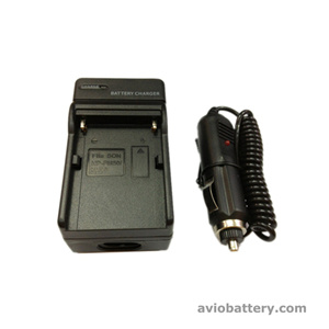 Camera Battery Charger for Sony Battery FM50