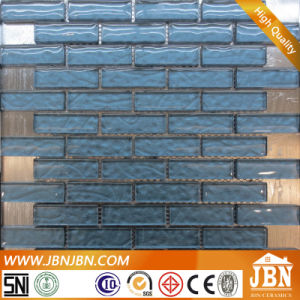 Commercial Space Wall Convex Blue Glass Mosaic (M855054) pictures & photos