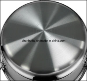 5 Layer Surgical Stainless Steel Induction Cookware pictures & photos