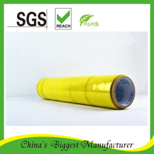High Quality Cast Stretch Film with Colors Over 300% Tension pictures & photos