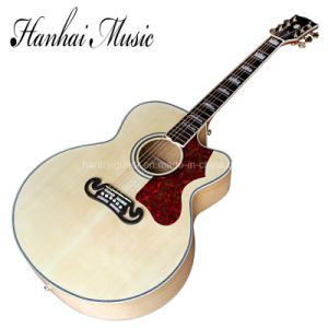 Hanhai Music/43′′ Acoustic Guitar with Cut-Away Body pictures & photos
