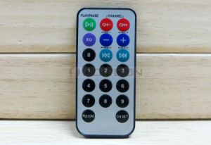 Wholesale Price 8mm Ultra-Thin Mini IR Remote Control for Audio Player pictures & photos