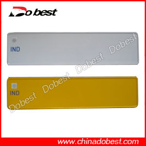 Blank Aluminum Car Number Plate pictures & photos