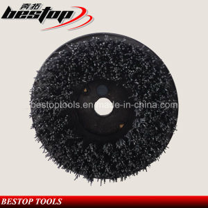 D100mm Steel Brush Round Cleaning Brush for Stone pictures & photos