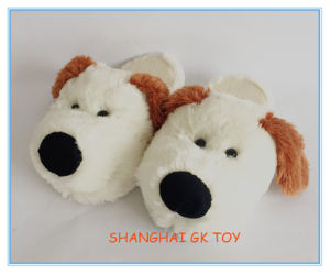 Plush Indoor Dog Puppy Slippers pictures & photos