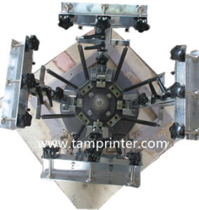 TM-R4k 2-Station 4 Color Garment Screen Printing Press pictures & photos