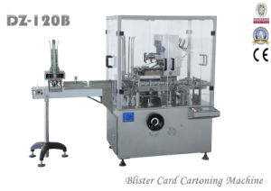 Automatic Custom Folding Box Packaging Machine Cartoning Machine for Blister Cards (DZ-120B) pictures & photos