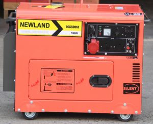 5kw 100%Copper Silent Portable Diesel Generator Air-Cooled pictures & photos