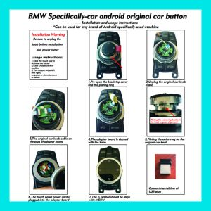 BMW Special Car Android Original Car Button pictures & photos