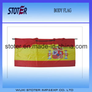 Different Country Body Flag Cape for Sports Fan Events