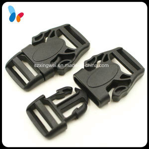 Black Plastic Quick Release Buckle for Belt Strap pictures & photos