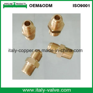 SAE Brass Straight Coupling/ Nipple (AV9029A) pictures & photos