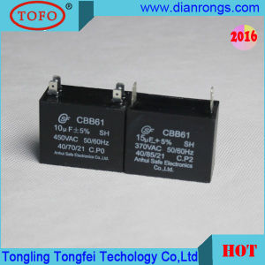 Cbb61 Sh 3UF Polypropylene Film Capacitor for Fan pictures & photos