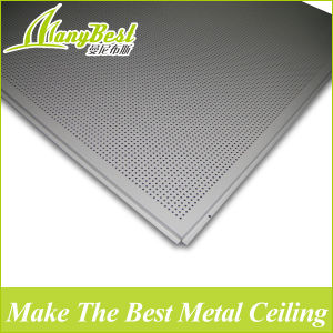 Hotsale 600*600 Aluminum Lay in Drop Ceiling Tiles pictures & photos
