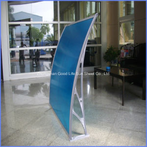 DIY Rain Sun Shade Polycarbonate PC Canopy/Awnings for Front Door pictures & photos