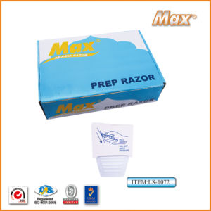 Single Stainless Steel Medical Hospital Use Shaving Prep Razor (LS-1070) pictures & photos