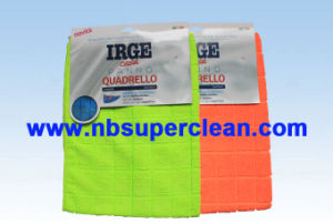 Plaid Design Microfiber Cleaning Cloth (CN3602-5) pictures & photos