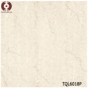 Building Material Beige Polished Porcelain Flooring Tiles (TQL6018P) pictures & photos