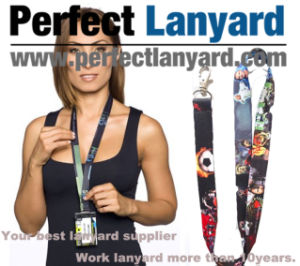 Softfeel Lanyards 20mm pictures & photos
