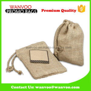 Eco-Friendly Coffee Bean Bag with Drawstring Closure pictures & photos