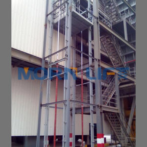 4m Lifting Height Hydraulic Material Lifts pictures & photos