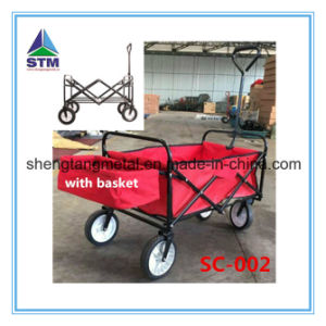 Foldable Shopping Finshing Cart pictures & photos