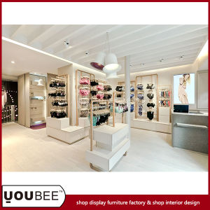 Customize Lingerie Display Showcase for Women′s Lingerie Shop Design pictures & photos