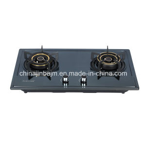 2 Burners Color-Coated Stainless Steel Built-in Hob/Gas Hob pictures & photos