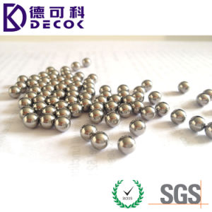 1.58mm 1.588mm AISI 304 304L Round Solid Stainless Steel Ball pictures & photos