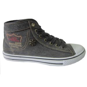 Custom Made Embroidery Canvas Sneakers Fancy New Canvas Shoes pictures & photos