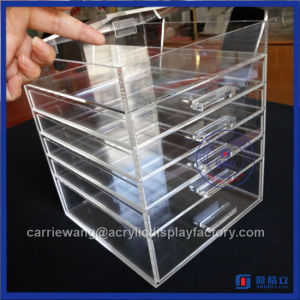 Yageli 6 Drawers Acrylic Cosmetic & Makeup Drawer Organizer with High Quality pictures & photos