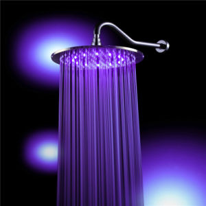 Bathroom Round Top Spray LED Shower (LED100000) pictures & photos