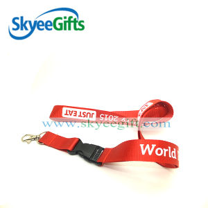 Cheap Custom Nylon material Shiny Lanyards No Minimum Order pictures & photos