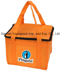 Custom Printed Non-Woven Insulated Chiller Bag for Lunch pictures & photos