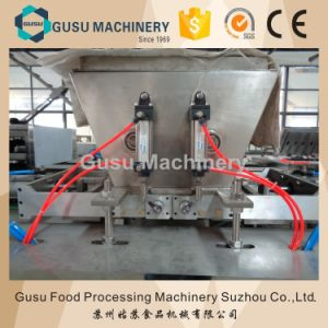 Ce Wafer Center Kitkat Chocolate Moulding Machine (QJJ175) pictures & photos