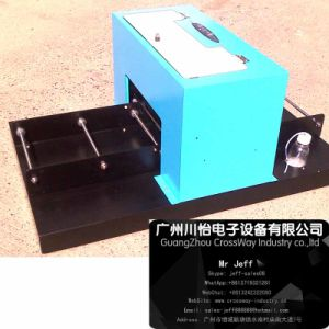 Small Size Flatbed Printer for Tshirt fabric Texile