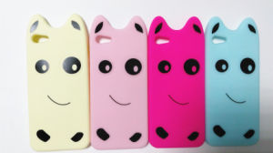 Animal Shape Cartoon Hairy Monster Three Aberdeen Silicone Phone Cover Mobile Soft Phone Case for Iphne 6 6plus