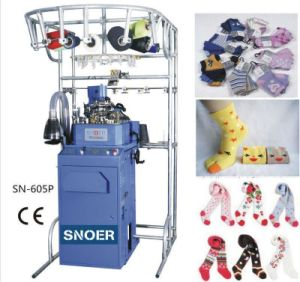 Hot Sale Looping Five-Toes Socks Knitting Machine pictures & photos