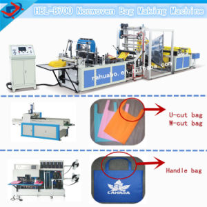 Non Woven Fabric Bag Making Machine (HBL-B700-800) pictures & photos