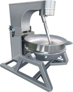 Full-Automatic Double Jacket Cooking Pot pictures & photos
